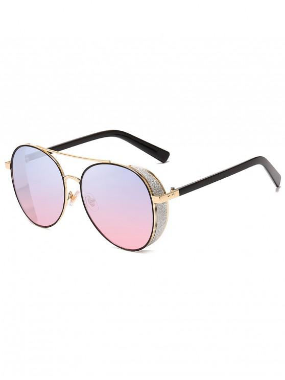 affordable Butterfly Shape Frame Decorative Sunglasses - POWDER BLUE