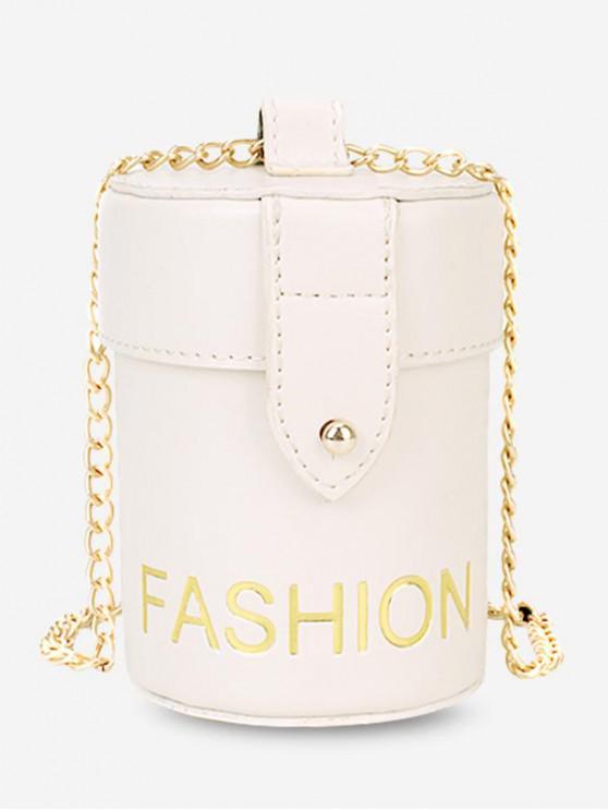 latest Character Pattern Shoulder Bucket Bag - WHITE