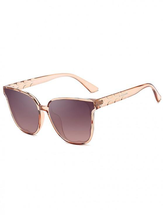 outfits UV-proof Stylish Irregular Pattern Sunglasses - PINK