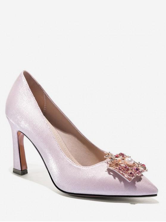 Zapatillas Bloque Color Estampado Fénix - Blanco EU 37