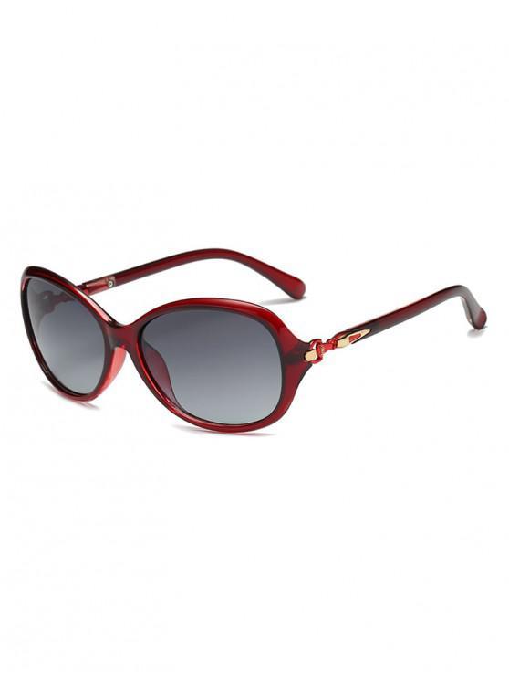 women Anti UV Driver Polarized Sunglasses - RED