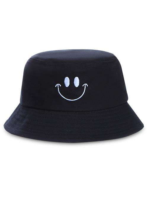 Embroidery Smile Face Bucket Hat thumbnail