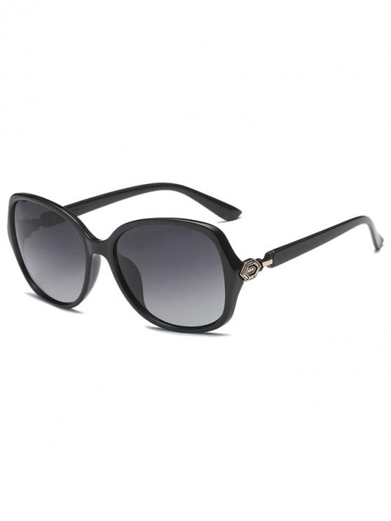 unique Butterfly Shape Simple Style Polarized Sunglasses - BLACK