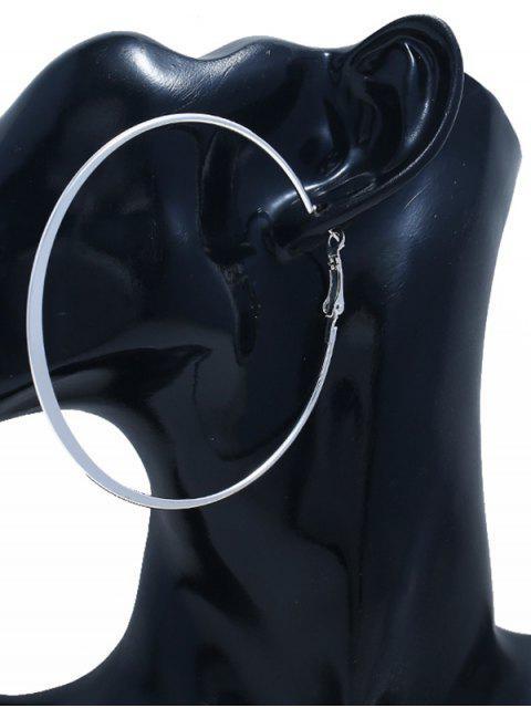 3 Paar -Legierung -Ohrringe- Set - Silber  Mobile