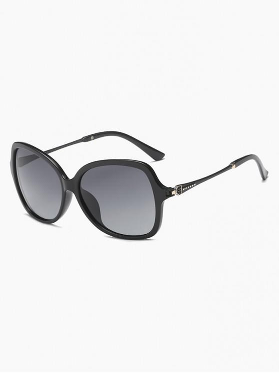 new Retro Driver Polarized Sunglasses - BLACK