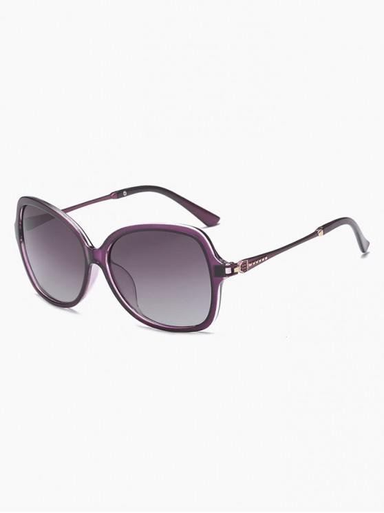shops Retro Driver Polarized Sunglasses - PURPLE