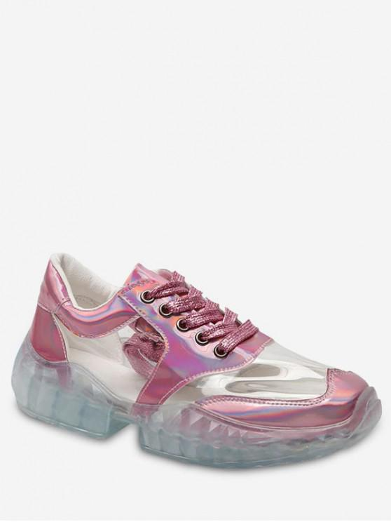 new Clear Patch Running Sneakers - LIGHT PINK EU 36