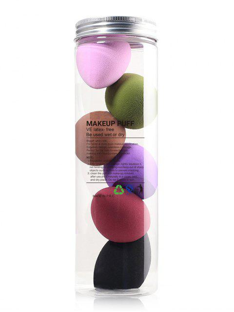 shop Water Drop and Beveling Shape Makeup Sponges - MULTI  Mobile