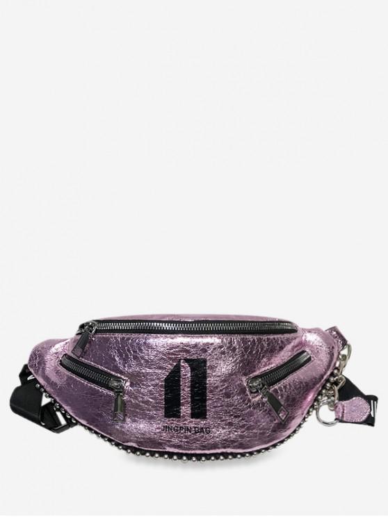 women's Character Pattern Stylish Crossbody Shoulder Bag - PINK