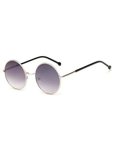 bcf7273308787 Óculos De Sol Redondos Ao Ar Livre Do Frame Do Metal - Multi-b