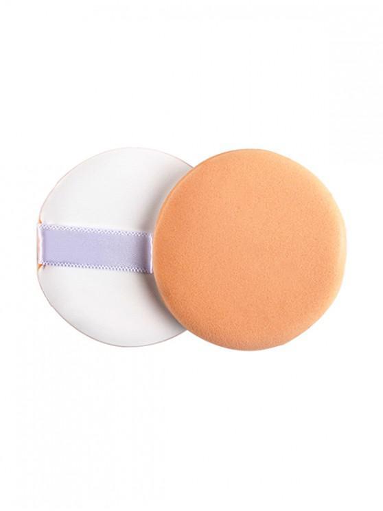 sale Cosmetic Tool Round Powder Puff - DEEP PEACH REGULAR