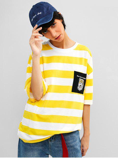 Gorra de béisbol bordada letra - Azul Pizarra  Mobile