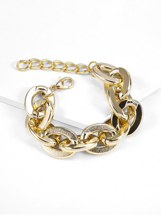 chic Big Link Chain Bracelet - GOLD