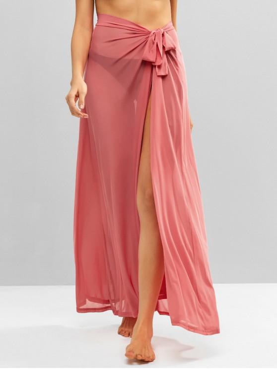 Falda de malla de corbata - Sandía Rosa Talla única