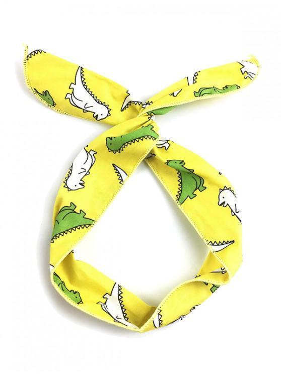 chic Cartoon Animal Print Wire Headband - MULTI-A