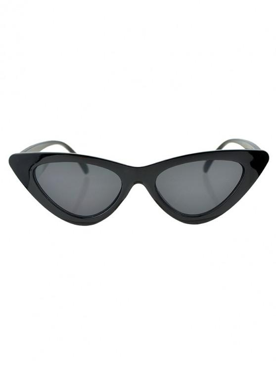 online Beach Triangle Kitty Eye Sunglasses - GRAY