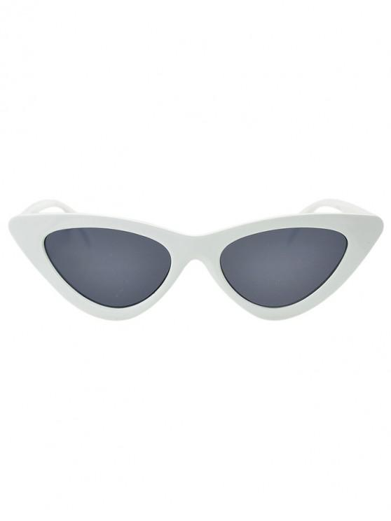 women's Beach Triangle Kitty Eye Sunglasses - SMOKEY GRAY