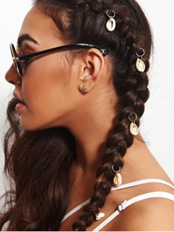 best Z Net HA-3353-shell Beach Shell Hair 5 Pack - BEIGE