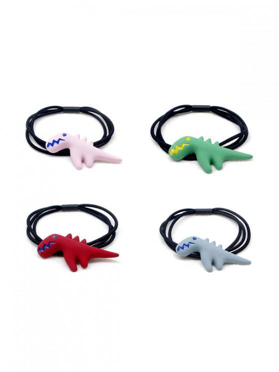 sale 4 Piece Cute Dinosaur Hair Band - MULTI-A