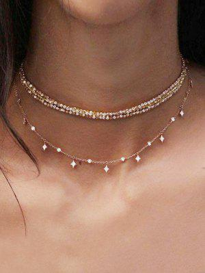 zaful Layered Chain Choker Necklace