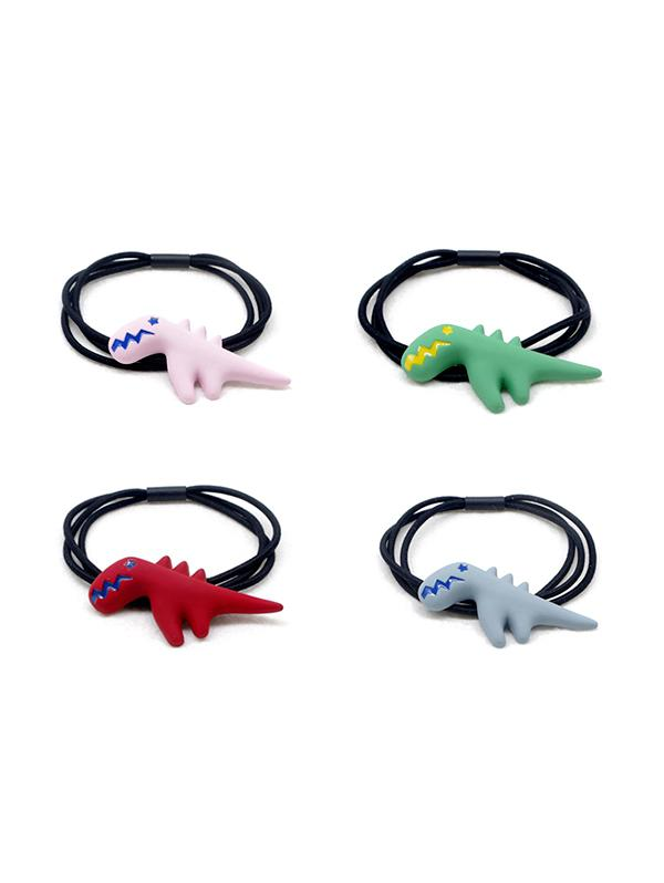 4 Piece Cute Dinosaur Hair Band