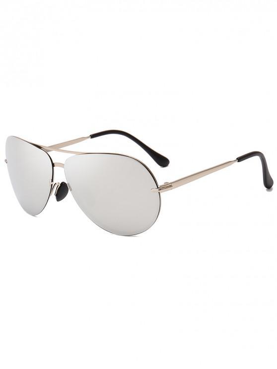 shop Drive Polarized Pilot Sunglasses - SILVER