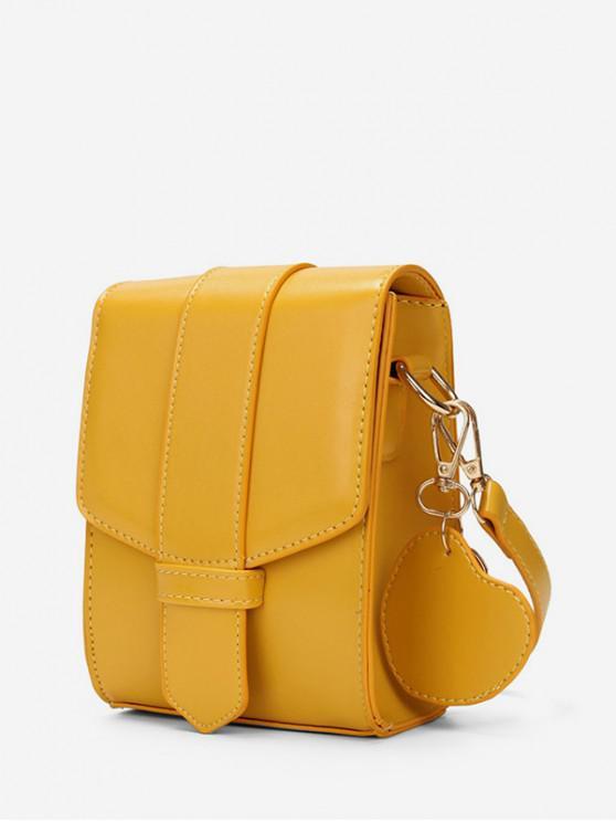 ladies Solid Color Design Waterproof Tote Bag - SUN YELLOW