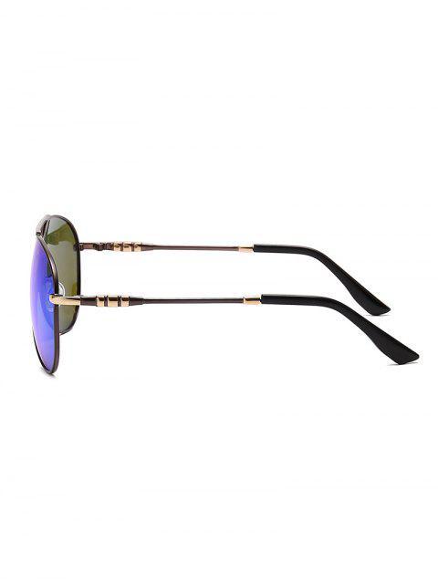 Lunettes de Soleil de Pilote Polarisées Anti-UV - Bleu de Soie  Mobile