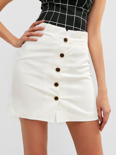 c7fa68579 2019 High Waist Button Skirt Online | Up To 50% Off | ZAFUL .