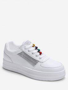 قوس قزح الخرز منهاج أحذية رياضية - اللون الرمادي الاتحاد الأوروبي 38