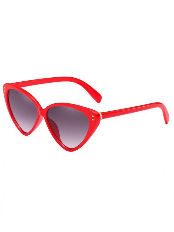 outfit Stylish Animal Print Leopard Pattern PC Sunglasses - RED