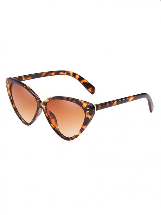 unique Stylish Animal Print Leopard Pattern PC Sunglasses - LEOPARD
