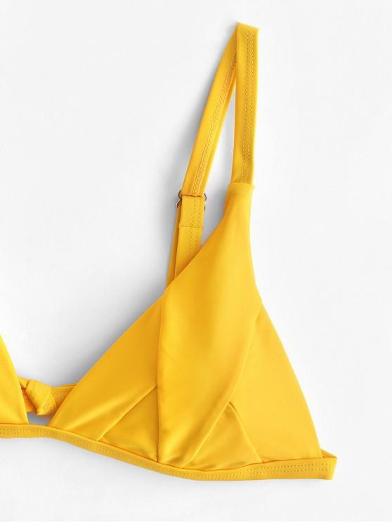 Ensemble ImpriméeJaune Bikini Feuille De S Tropicale Clair Zaful dCeWroxB