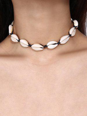 zaful Handmade Shell Choker Necklace