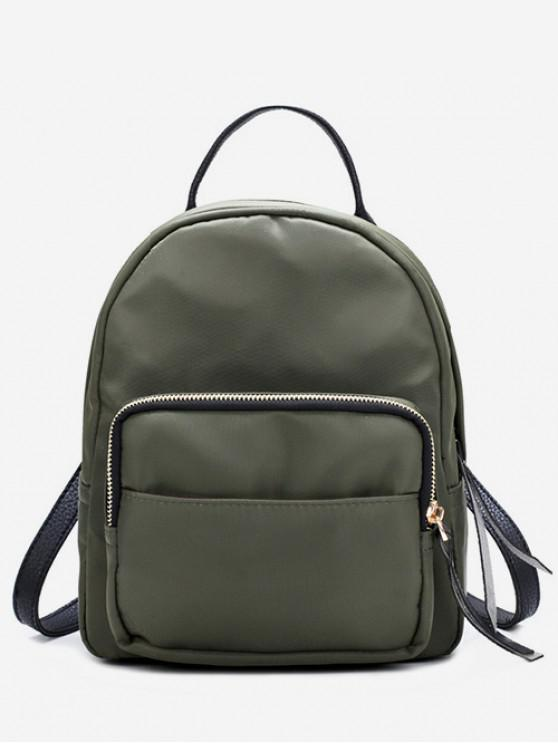 unique Fashion Mini Nylon Backpack - CAMOUFLAGE GREEN