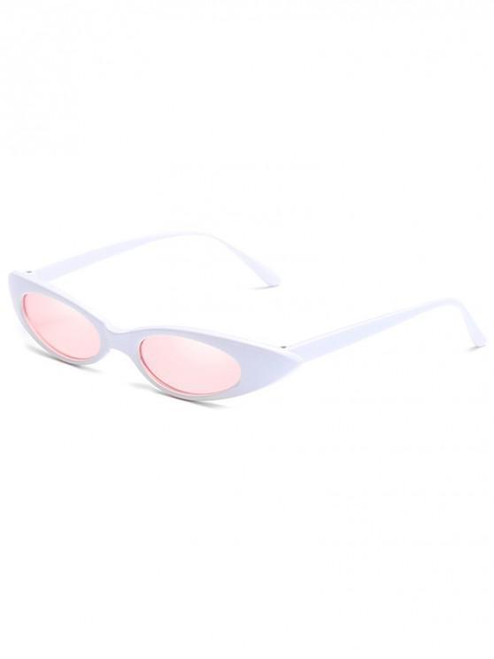 buy Catty Eye Polarized Oval Sunglasses - PIG PINK