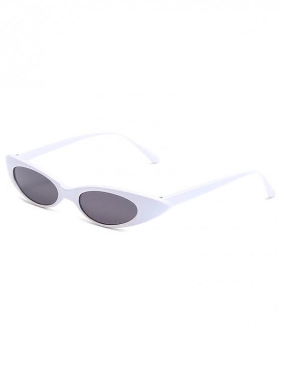 Catty Eye gafas de sol ovaladas polarizadas - Gris Carbón