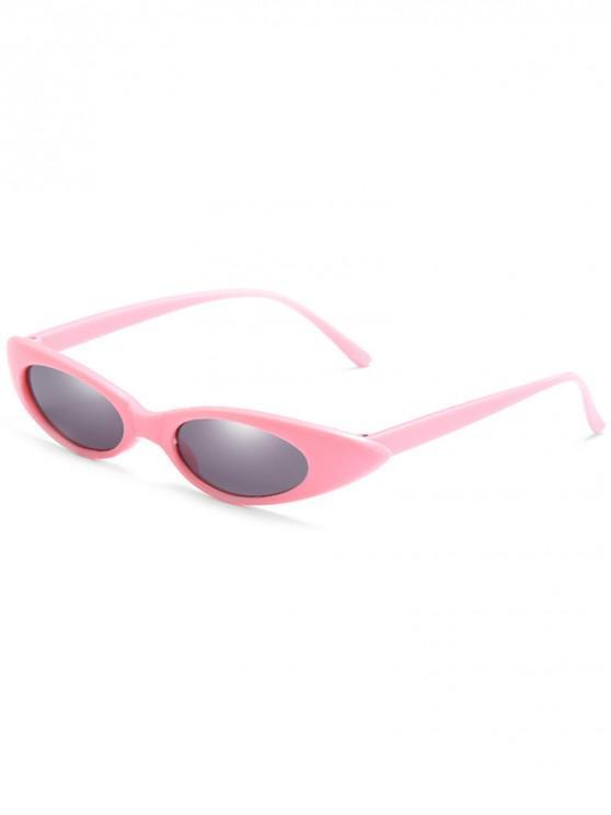 shop Catty Eye Polarized Oval Sunglasses - GRAY