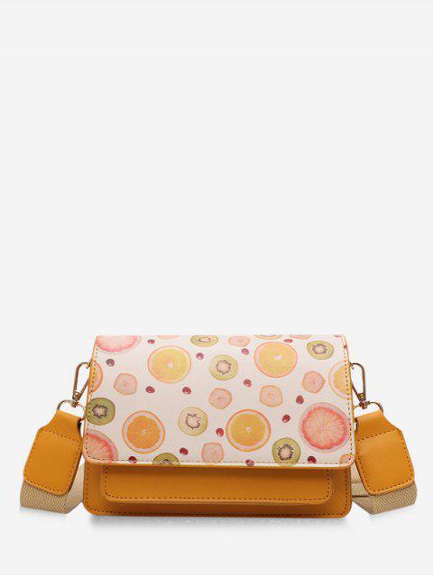 sale Fruit Pattern Crossbody Bag - ORANGE  Mobile