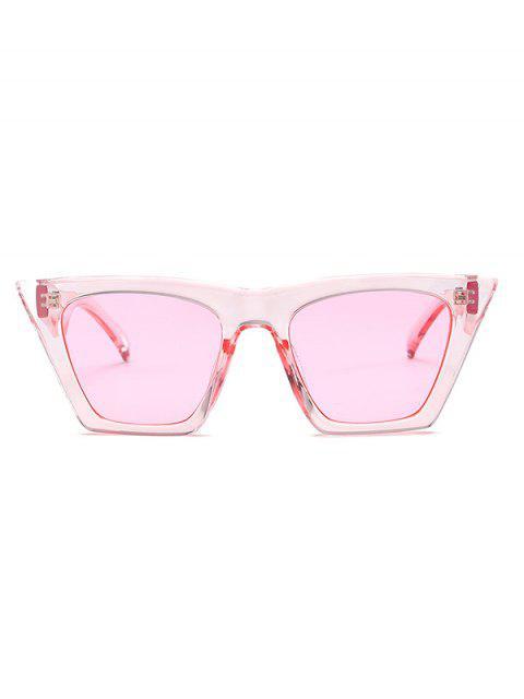 hot Square Kitty Eye Polarized Sunglasses - PINK  Mobile