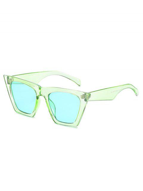 outfits Square Kitty Eye Polarized Sunglasses - JADE GREEN  Mobile