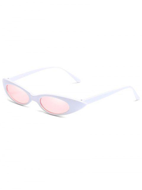 buy Catty Eye Polarized Oval Sunglasses - PIG PINK  Mobile