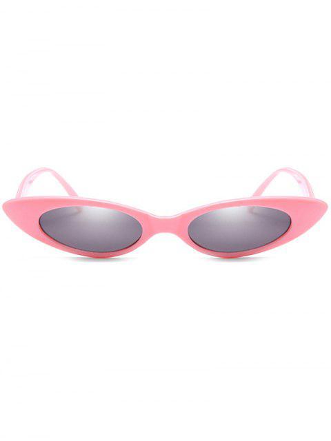 shop Catty Eye Polarized Oval Sunglasses - GRAY  Mobile