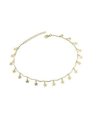 Brief Star Charm Necklace - Gold  ₪18 RRP ₪31