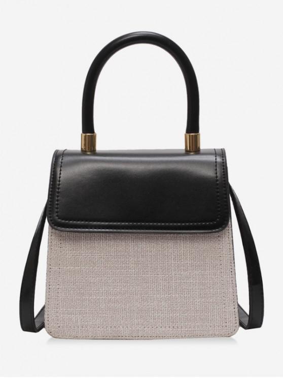 hot Simple Style General Shoulder Bag - BLACK