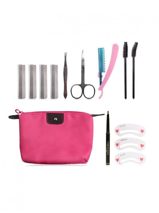 Set de herramientas de maquillaje para cejas - Multicolor
