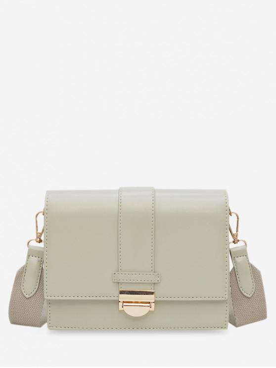 best Square Simple Hasp Shoulder Bag - DARK SEA GREEN