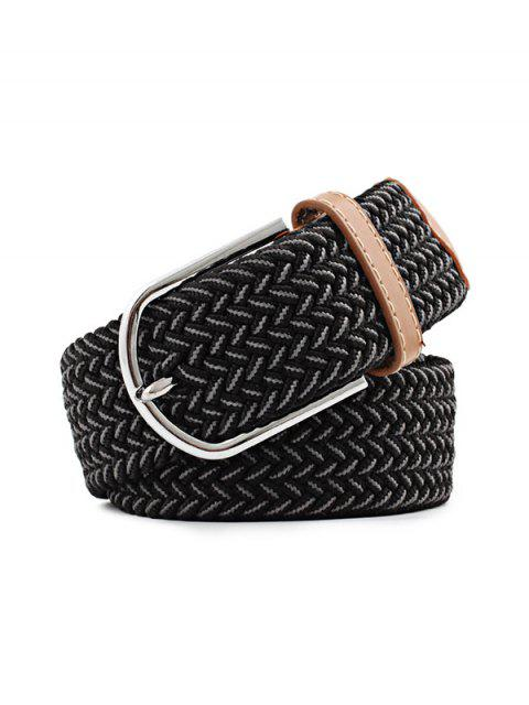 shop Elastic Canvas Pin Buckle Belt - MULTI-E  Mobile