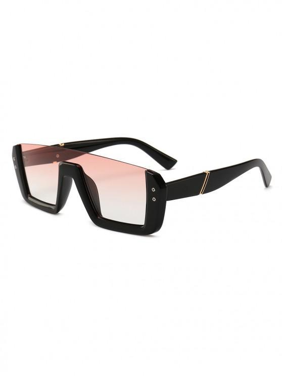 Gafas de sol estilo retro sin montura - Rosado