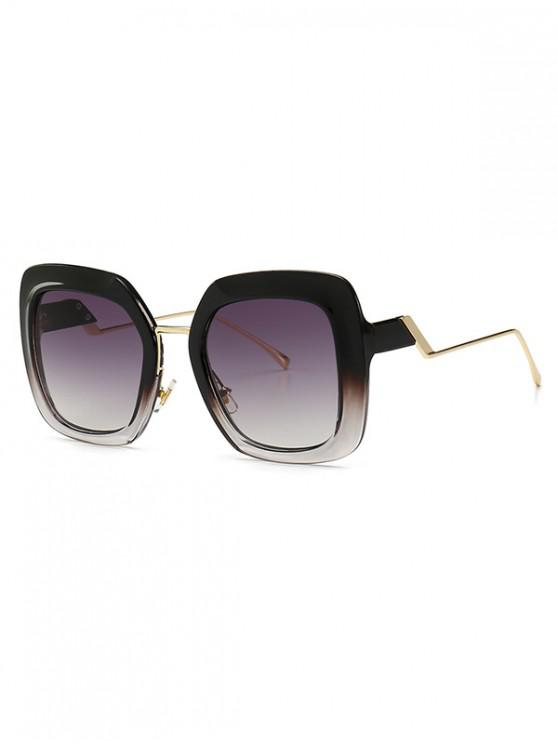 sale European Style Square Street Style Sunglasses - SMOKEY GRAY